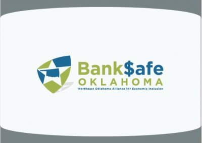 Bank Safe Oklahoma Tulsa Graphic and Logo Design Sample