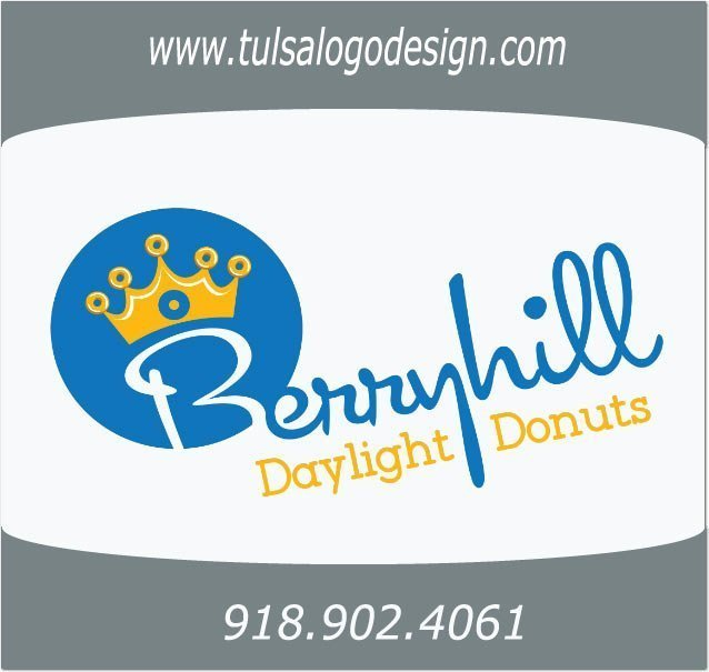 Berryhill Daylight Donuts, Tulsa Graphic and Logo Design Sample