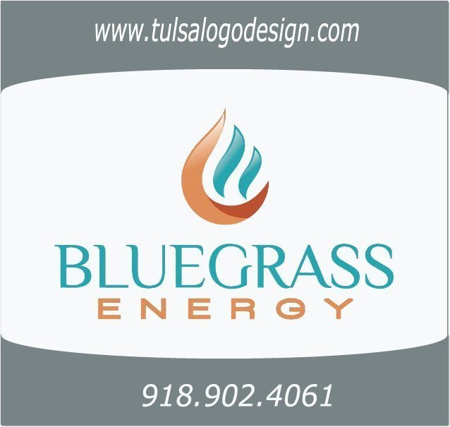 Tulsa Logo Design Graphic Design Sample Bluegrass Energy