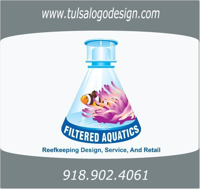 Tulsa Graphic and Logo Design Sample, Filtered Aquatics
