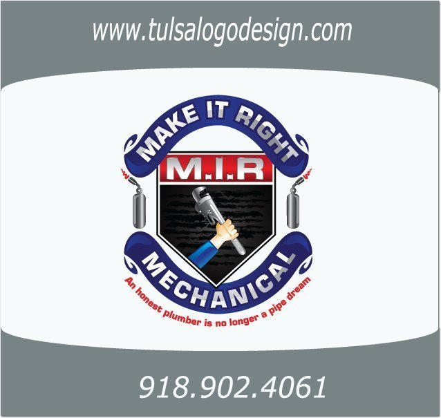 Tulsa Graphic and Logo Design Sample Make It Right Mechanical