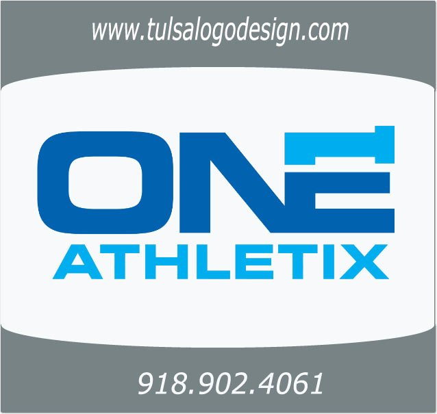 One Athletix Tulsa Graphic and Logo Design Sample