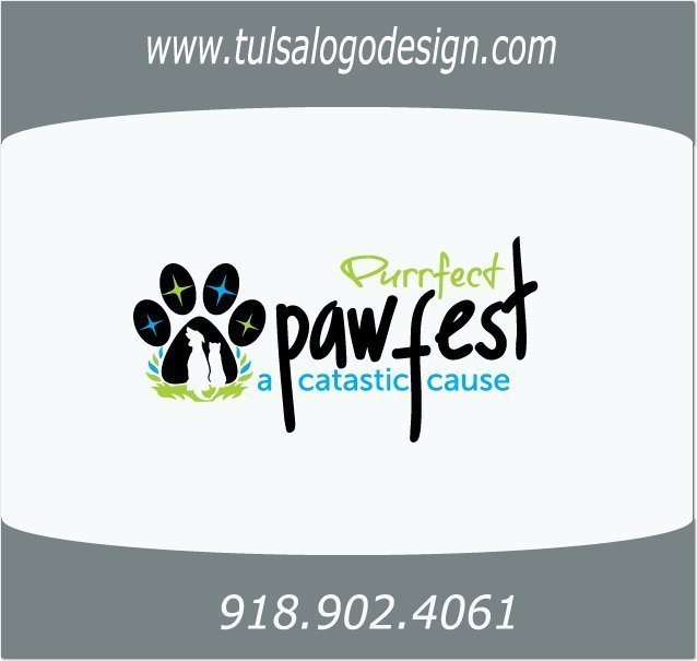 PurrfectPawfes Tulsa Logo and Graphic Design Sample