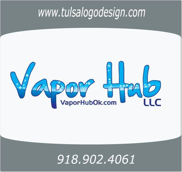 Tulsa Oklahoma Graphic and Logo Design Sample Vapor Hub LLC