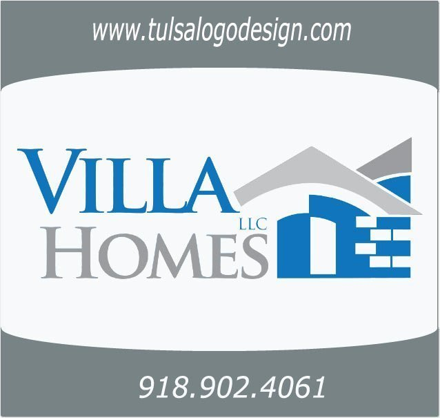 Villa Homes llc Tulsa Oklahoma Graphic and Logo Design Sample