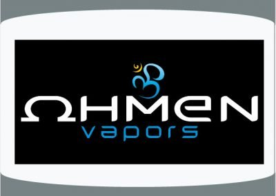 Ohmen Vapors Tulsa Graphic and Logo Design Sample