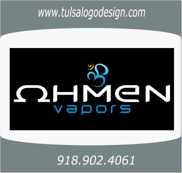 Ohmen Vapors Tulsa Graphic and Logo Design Sample
