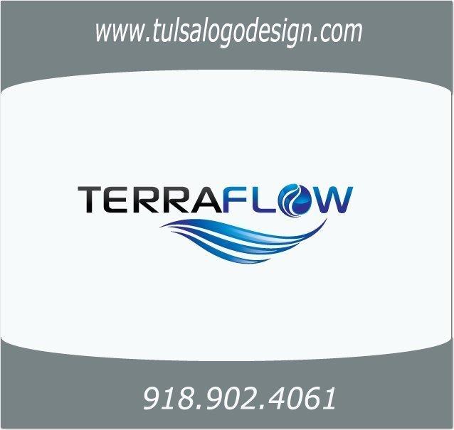 Sample Terraflow Tulsa Logo Design